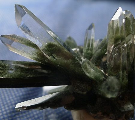 ヒマラヤ水晶原石緑泥石入り038-3