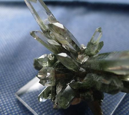 ヒマラヤ水晶原石緑泥石入り038-8
