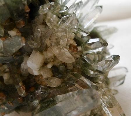 ヒマラヤ水晶原石緑泥石入り048-9