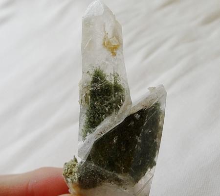 ヒマラヤ水晶原石特殊形状044-8
