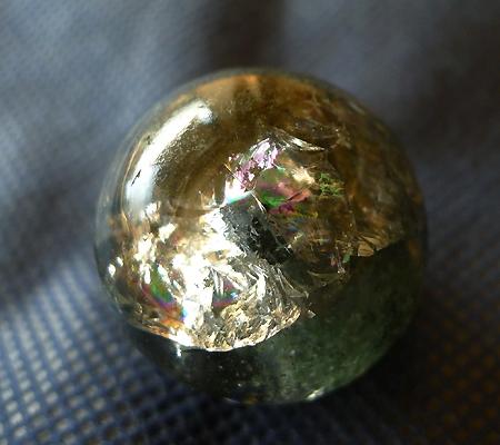 ヒマラヤ水晶丸玉内包物入り013-3