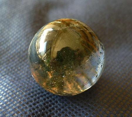 ヒマラヤ水晶丸玉内包物入り013-5