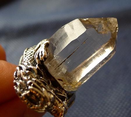 ヒマラヤ水晶ペンダントドラゴントップ017-4