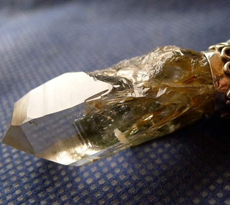 ヒマラヤ水晶ペンダントドラゴントップ018-3