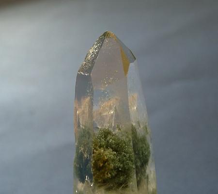 ヒマラヤ水晶ペンダント緑泥石入り039-4