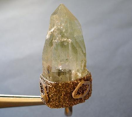 ヒマラヤ水晶ペンダント緑泥石入り040-4