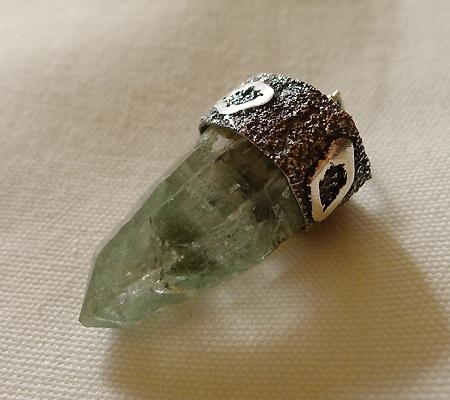 ヒマラヤ水晶ペンダント緑泥石入り040-6
