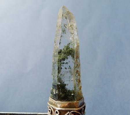 ヒマラヤ水晶ペンダント緑泥石入り041-2