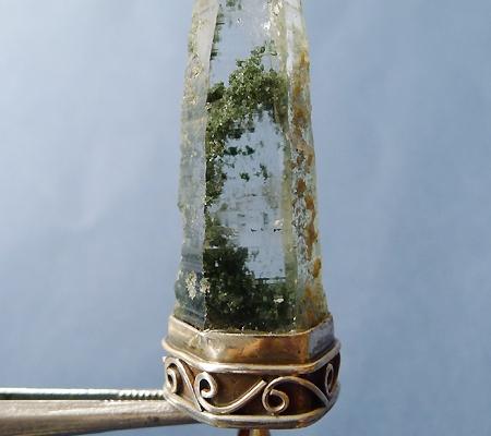 ヒマラヤ水晶ペンダント緑泥石入り041-3