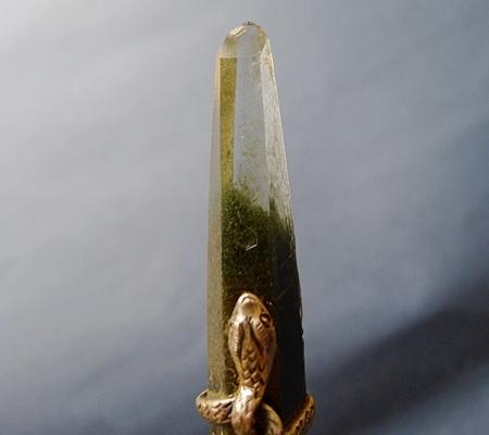 ヒマラヤ水晶ペンダント緑泥石入り045-2