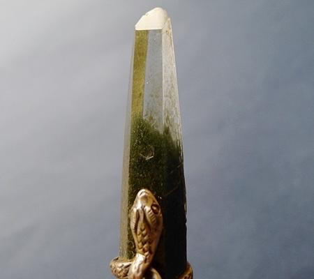 ヒマラヤ水晶ペンダント緑泥石入り045-3