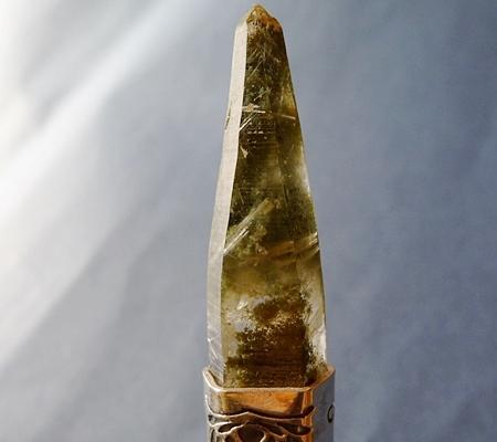 ヒマラヤ水晶ペンダント緑泥石入り051-3