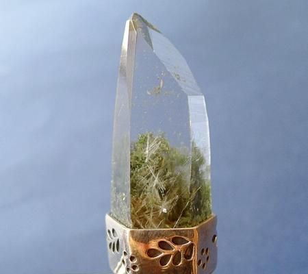 ヒマラヤ水晶ペンダント緑泥石入り054-2