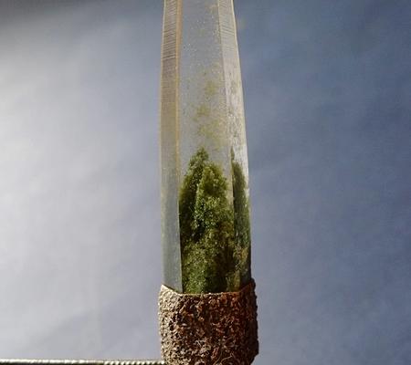 ヒマラヤ水晶ペンダント緑泥石入り057-2