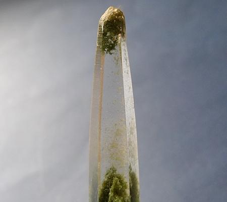 ヒマラヤ水晶ペンダント緑泥石入り057-3
