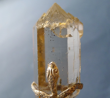 ヒマラヤ水晶ペンダントスモーキークォーツ033-3