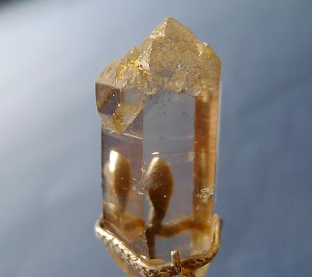 ヒマラヤ水晶ペンダントスモーキークォーツ033-5