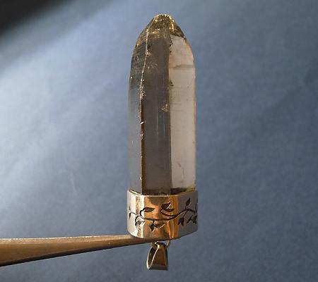 ヒマラヤ水晶ペンダントスモーキークォーツ035-3