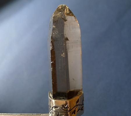 ヒマラヤ水晶ペンダントスモーキークォーツ035-4