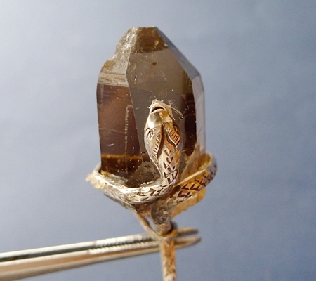 ヒマラヤ水晶ペンダントスモーキークォーツ042-2