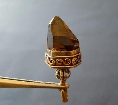 ヒマラヤ水晶ペンダントスモーキークォーツ051-2