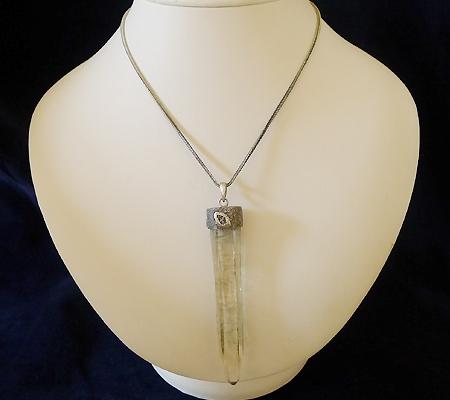 ヒマラヤ水晶ペンダント特殊形状029-9