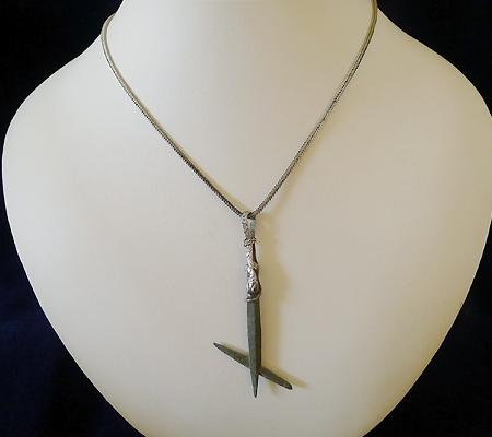 ヒマラヤ水晶ペンダント特殊形状030-8