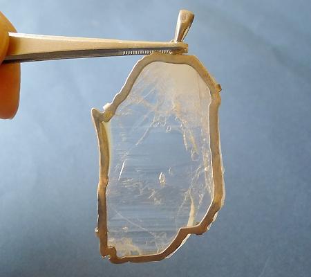 ヒマラヤ水晶ペンダント特殊形状031-3
