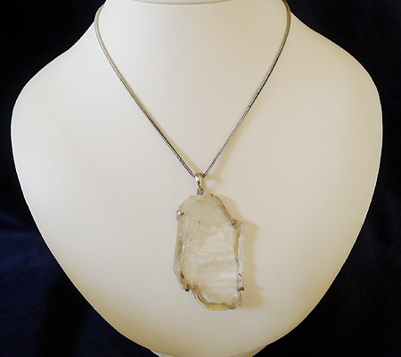ヒマラヤ水晶ペンダント特殊形状031-7