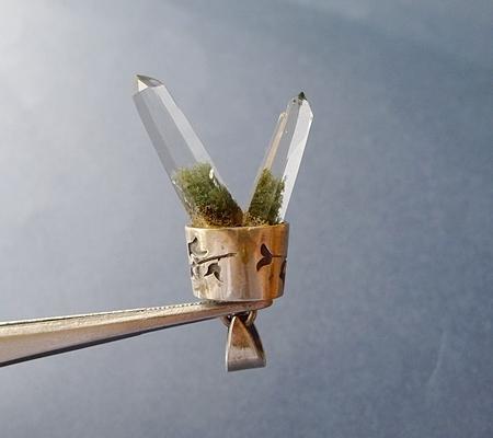ヒマラヤ水晶ペンダント特殊形状033-4