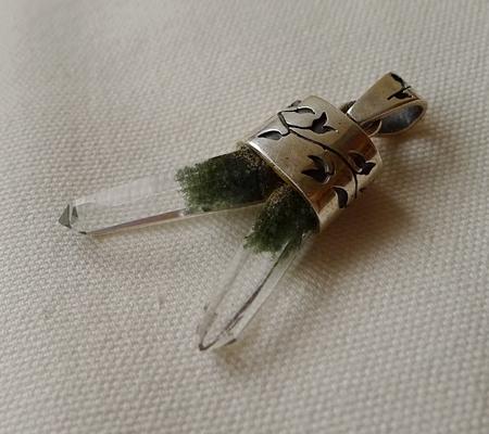 ヒマラヤ水晶ペンダント特殊形状033-5