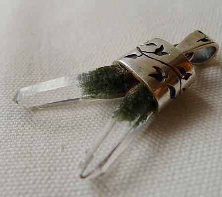 ヒマラヤ水晶ペンダント特殊形状033-6