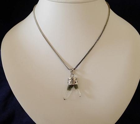 ヒマラヤ水晶ペンダント特殊形状033-8