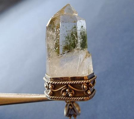 ヒマラヤ水晶ペンダント特殊形状037-2