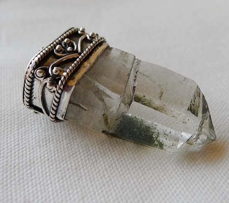 ヒマラヤ水晶ペンダント特殊形状037-7