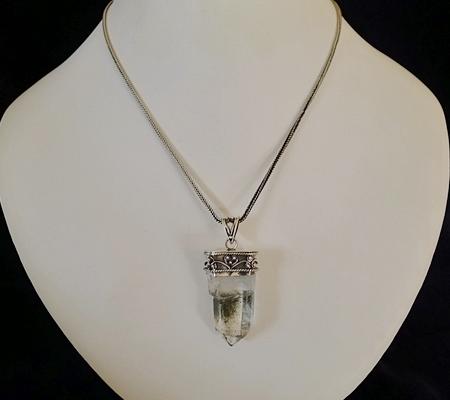 ヒマラヤ水晶ペンダント特殊形状037-9
