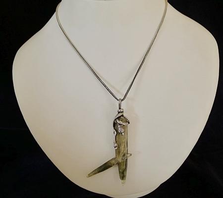 ヒマラヤ水晶ペンダント特殊形状039-10