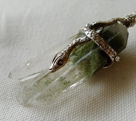 ヒマラヤ水晶ペンダント特殊形状041-6