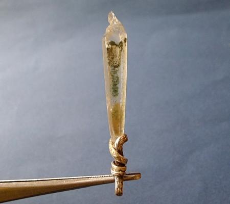 ヒマラヤ水晶ペンダント特殊形状045-4