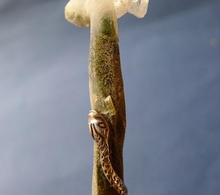 ヒマラヤ水晶ペンダント特殊形状046-3