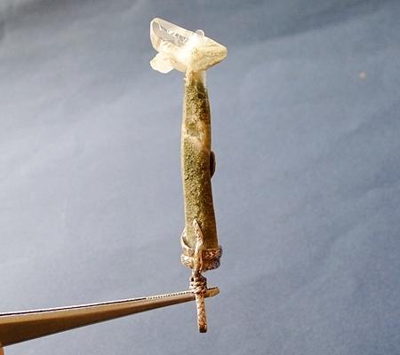 ヒマラヤ水晶ペンダント特殊形状046-4