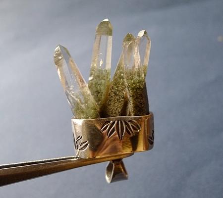 ヒマラヤ水晶ペンダント特殊形状048-4