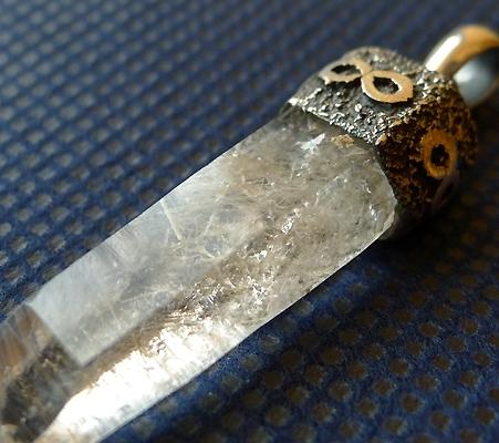 ヒマラヤ水晶ペンダント特殊内包物019-6