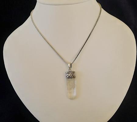 ヒマラヤ水晶ペンダント特殊内包物019-9