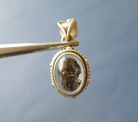 ヒマラヤ水晶ペンダント特殊内包物022-2
