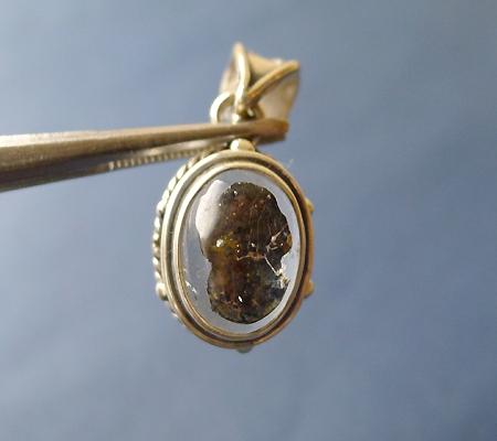 ヒマラヤ水晶ペンダント特殊内包物022-4