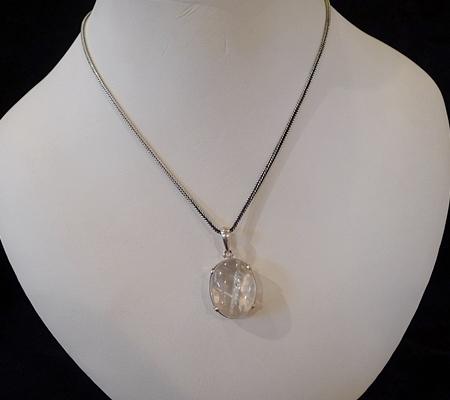 ヒマラヤ水晶ペンダント特殊内包物027-10