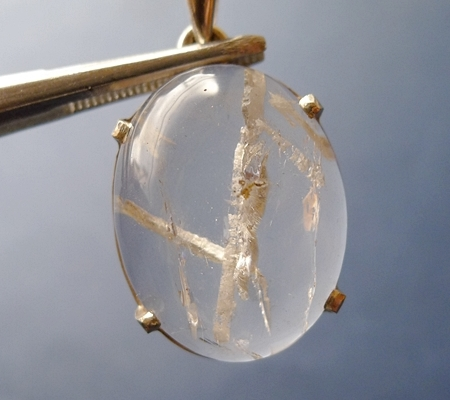 ヒマラヤ水晶ペンダント特殊内包物027-2