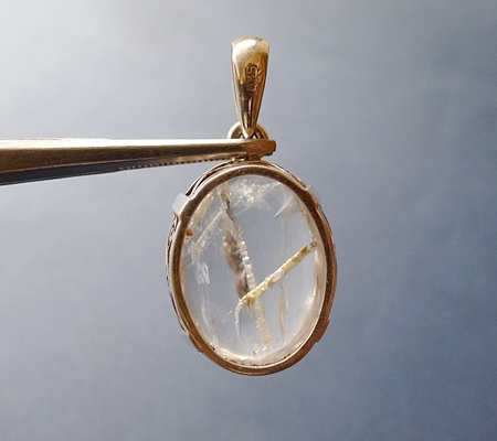 ヒマラヤ水晶ペンダント特殊内包物027-3