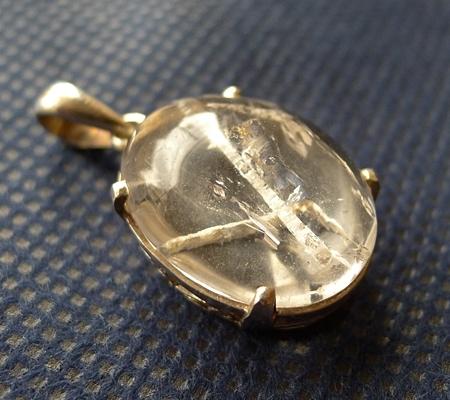 ヒマラヤ水晶ペンダント特殊内包物027-7